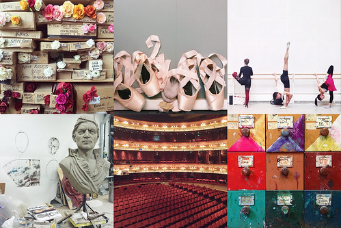 A glimpse into the Costume and Prop departments, as well as beautiful photos of Royal Ballet Class.