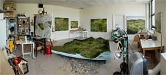 The Studio of Amy Bennett - 2014 (steveartist) Tags: art artists painters artgalleries artmuseums artstudios femaleartists richardhellergallery realistpainters amybennett