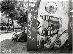 frightfulness (M. Villanueva Photography) Tags: barcelona street urban byn bcn
