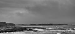 Brazing Bamburgh (Alan-Taylor) Tags: northumbria seahouses bamburghcastle monochrome blackandwhite bw england