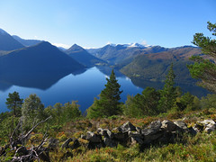 October (Mrs.Snowman) Tags: autumn hike sunday hornet volda quiet fjord sunnmøre norway westcoast