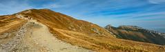 Czerwone Wierchy z Przełęczy Pod Kopą Kondracką (czargor) Tags: tatry nature mountians mountainside tatra mountains czerwone wierchy