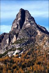 Cathedral Peak 2 (@GilAegerter / klahini.com) Tags: nikon nikkor mountains climbing scrambling backpacking 2550mmf4ais cathedralpeak manualfocus manuallens