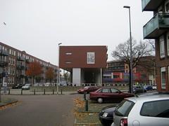 Billboard van Jayne Mansfield bij Sparta Stadion in Rotterdam (poedievanlaar) Tags: jayne mansfield sparta rotterdam fc utrecht dos eredivisie stadion spangen stadium old hollywood voetbal football sex symbol aftrap nederland