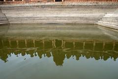Reflected (VinayakH) Tags: bhoganandeeshwaratemple karnataka india temple nandihills chikkaballapura chola ganga hoysala tipusultan religious historic