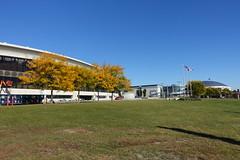 Olympic Stadium @ Montreal (*_*) Tags: montreal mtl canada quebec northamerica 2016 autumn fall automne october city sunny morning hochelaga maisonneuve olympic stadium stadeolympique