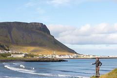 Cedric @ lafsvk (Photocedric) Tags: iceland ocean water snfellsnes peninsula islande mountain town sea snfellsnes is