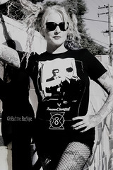 DSC_0087bw (Crative Refuge) Tags: positive positivity portrait clothing blonde california