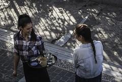Goodmorning! (Kostis Tatakis) Tags: waitress women girls smile coffee adrianou monastiraki morning athens greece nikon nikond nikond80