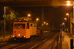 29.10.2016 (IV); Poetsen in Utrecht (chriswesterduin) Tags: evag 652 sun sunij sneltramutrecht utrecht tram werktram strukton