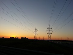 Sunset . (presteza777) Tags: sun sunset tramonto puestadelsol coucherdusoleil russia samsung stpeterburg autumn evening
