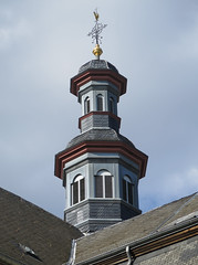 Luxemburg protetstantse kerk toren (Arthur-A) Tags: luxemburg luxembourg trinitatis kerk eglise church kirche protestant