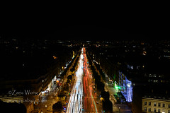 DSC_8410 (Zaric (picsbyzic)) Tags: arcdetriomphe paris france avenuedeschampslyses champslyses longexposure lighttrails ruedeschampslyses