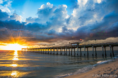 Venice Jetty (DonMiller_ToGo) Tags: clouds cloudporn southjetty sunsetmadness sunsets nature onawalk d5500 outdoors sunsetsniper jetty sky goldenhour florida