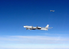(aeroman3) Tags: raf royalairforce qra quickreactionalert intercept bear fgr4 lossiemouth equipment aircraft jet fighter defensive typhoon russian russia uk