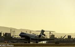 N711SW G50ER (KSBD Photo) Tags: burbank california unitedstates us n711sw g50er gulfstream gulfstreamfan gulfstreamforever fanfriday gulfstreamaero