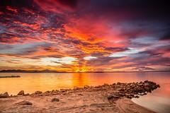 IMG_7232 La Manga - San Javier - Murcia (digsoto - Diego Soto) Tags: spain sea longexposure largaexposicion marmenor murcia atardecer sunset cloud