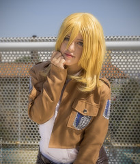 _MG_2728 (Mauro Petrolati) Tags: shingeki no kyojin attacco giganti krista lenz historia reiss romics 2016 ottobre cosplay cosplayer