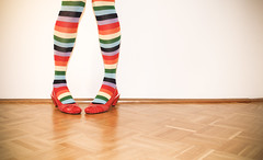 Costume (CoolMcFlash) Tags: colors sox sock costume flickrfriday colorful funky canon eos 60d tamron a007 2470mm person woman female red shoes bunt farben socken strmpfe kostm verkleidung frau rot schuhe fotografie photography funny lustig pose legs beine