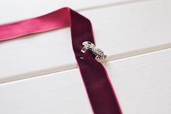 diy_choker_neklace-13 (Stacyco) Tags: diy handmade craft necklace choker velvet ribbon minimal circle jewelry accessories 90s hobby easy simple brooch red marsala burgundy