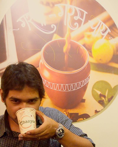 #AnyTime is #TeaTime. #ChaiLover. #Chaayos.
