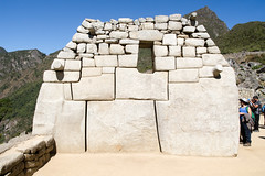 4/5. Temple des 3 fentres.. Machu Picchu (geolis06) Tags: geolis06 prou peru per amriquedusud southamerica machupicchu machu picchu huaynapicchu patrimoinemondial unesco unescoworldheritage unescosite pachacutec inca emperor hirambingham em5olympus olympusm1240mmf28