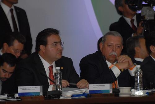 El gobernador Javier Duarte de Ochoa asistió a la XXX Sesión del Consejo Nacional de Seguridad Pública 3