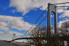 Verrazano–Narrows Bridge (Triborough) Tags: ny nyc newyork newyorkcity richmondcounty statenisland fortwadsworth park nationalpark nps nationalparkservice vnb verrazanonarrowsbridge