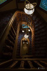 Strange Feeling (p.debraux) Tags: champagne house beautiful haunted stairs strange ghost feeling fear height lights