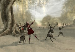 Dancing with Rudolph (Leonorah Beverly) Tags: secondlife frisland