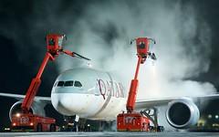 A7-BCO Qatar Airways Boeing 787-8 Dreamliner (Cato Lien) Tags: a7bco engm deicing gardermoen qatar