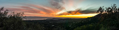 20161009-DSC07350-Pano_161009 (halicolarvensis) Tags: sunset panoramic dusk landscape mountain