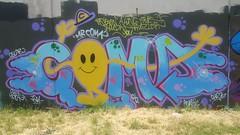 Coma... (colourourcity) Tags: streetartaustralia streetart streetartmelbourne graffiti graffitimelbourne alphabetmosnters letters melbourne burncity awesome colourourcity nofilters burner coma coma1