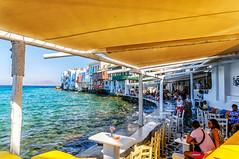 Little Venice (Kevin R Thornton) Tags: d90 taverna nikon travel architecture greece littlevenice mykonos city mediterranean mikonos egeo gr