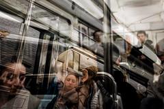 Paris So Far #21 (Jean Banja) Tags: paris metro double exposures france people