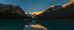 Lake Louise at sunrise (tedhort3) Tags: lakelouise sunrise lake landscape canada