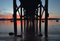 San Balandrn (blancaelena_muizmartinez) Tags: asturias spain espaa water sunset atardecer atardeceres agua sky