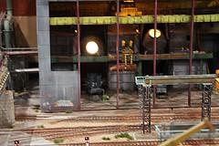 Stahlwerk H0  (23) (Rinus H0) Tags: modelspoor modeltreinen modelrailway modeltrains modelleisenbahn eurospoor 2016 utrecht nederland thenetherlands holland stahlwerk gerdotto steelmill scale schaal gauge h0 187 iron rust pipes cokes scrap furnace steel steelindustry