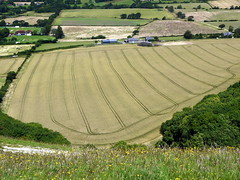 Stripes (Worthing Wanderer) Tags: southdowns sussex summer sunny devils dyke viewpoint clouds