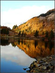 Autumn in Scotland (juzzie_snaps) Tags: europe travel november scotland loch scottishloch waterreflection