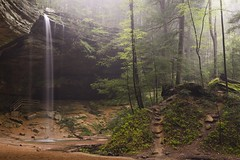 Ash Cave in Hocking Hills State Park, Ohio (jkrieger84) Tags: nikon d600 landscape nature waterfall cave trees fog hockinghillsstatepark ohio water falls ashcave