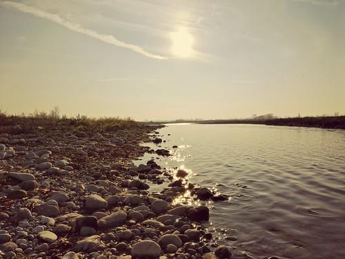 Serio River, Italy