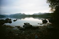 Derwentwater (iampaulrus) Tags: lomo lomography 35mm 35mmfilmphotography lcwide filmisnotdead film paulfargherphotography paulfargher analog analogue istillshootfilm photoexpresshull lakedistrict lake derwentwater keswick scenic landscape