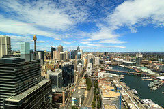 Sydney on high (Karn B) Tags: australia sydney cityscape day darlingharbour