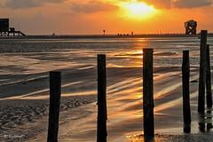 Sundown (RolandD (Pano)) Tags: sun beach strand sundown sonnenuntergang