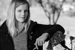 Nina (Meine Sicht) Tags: bergischgladbach blackandwhite bw fotokunst leica leicam messsucher portrait rauen sw vollformat monochrom schwarzweiss wwwrauenfotode nina modell cute girl orangefilter
