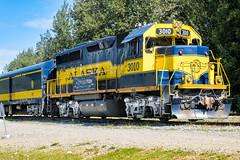 Alaska 2016 (wal50wol) Tags: alaska nordamerika eisenbahn usavereinigtestaatenvonamerika lokomotive insidepassagealaska2016 talkeetna usa us