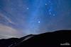 Sirius Slopes (kevin-palmer) Tags: bighornmountains bighornnationalforest winter december night sky stars starry astronomy astrophotography dark nikond750 tokina1628mmf28 orion sirius clouds clear blue snow snowy cold frigid nightscape astrometrydotnet:id=nova1850205 astrometrydotnet:status=failed