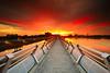 NEVER ENDING SUNSET. (Kamaruz Zaman) Tags: singhrayrgnd leefilter sky canon5dmk3 landmark putrajaya sunset canonphotography canon