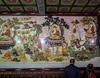Big Wild Goose Pagoda-5678 (kasiahalka (Kasia Halka)) Tags: unescoworldheritagesite giantwildgoosepagoda bigwildgoosepagoda buddhistpagoda tangdynasty 652 morningbell godofwealth xuanzang xian china